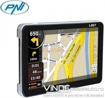 GPS PNI L807 cu harta pentru camioane full Europa