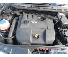 Motor complet fara anexe 1.4 cod motor BNV, an 2006, Fabia