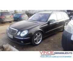 Dezmembrez Mercedes E Class W211 din 2004, 3.2 cdi , tip 648.961