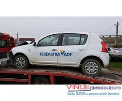 Dezmembrez / Dezmembrari Dacia Sandero 1.5 dci euro 4 an 2009