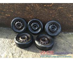 Set 5 Roti Jante Tabla R15 4x108 Anvelope Ford Focus1 Mondeo 2 Fiesta4